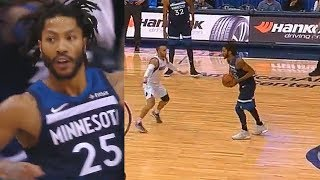 Derrick Rose Turns Back Into Vintage MVP and Destroys Entire Mavericks! Timberwolves vs Mavericks