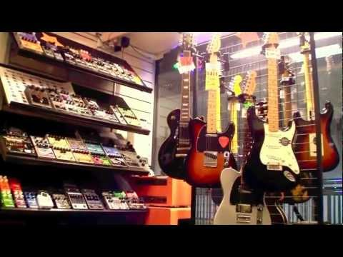 MUSIC STORE SINGAPORE / BEST IN ASIA / Music by Jeremy Tordjman Guitar