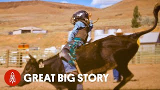 Meet the 13-Year-Old Bull Riding Champion
