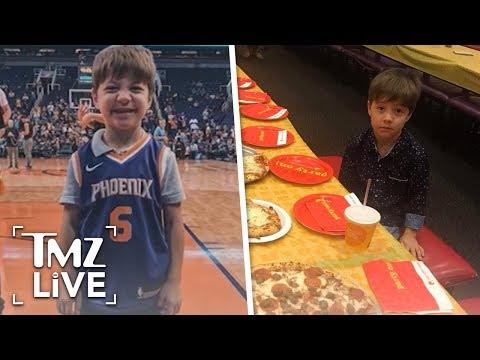 Lonely Pizza Party Kid: Publicity Stunt? | TMZ Live