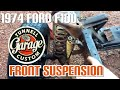 1974 Ford F100 frame swap and restoration - video 8 - coil springs removed and radius arm brackets