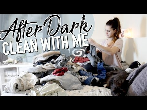 RELAXING CLEAN WITH ME AFTER DARK || SPEED CLEAN POWER HOUR || WITH CLEANING MUSIC
