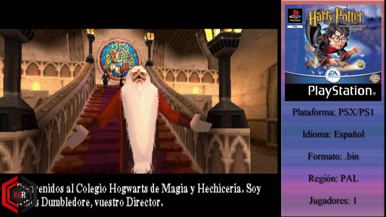 Descargar Harry Potter Y La Piedra Filosofal Psx Espanol Mega