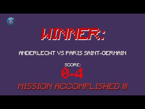🎮 🔴🔵 ANDERLECHT 0 - PARIS 4 ✔️