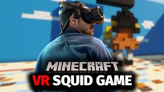 I Tried VR Squid Game in Minecraft... This is what happened.