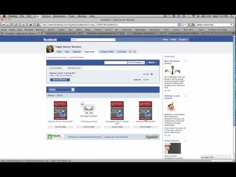 How To Add A Shopping Cart To Your Facebook Page