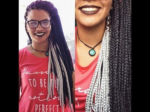 Download video: Box braids (de linha)