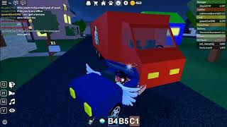 Delivering A Few Pizzas For People In Roblox Work At a Pizza Place