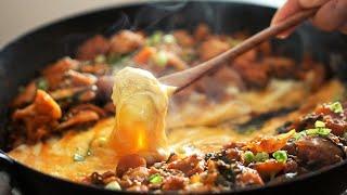 배부른 다이어트 요리! 살안찌는 치즈 닭갈비 만들기! …