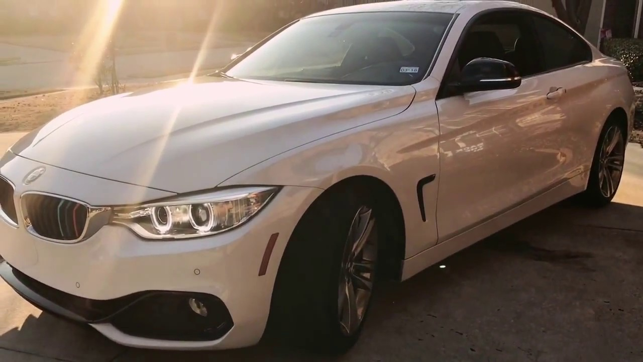 Bmw 428i M Grille Stripes Special Youtube