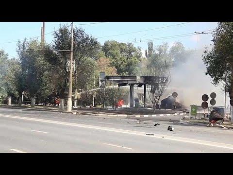 شاهد.. حريق ضخم في محطة وقود بروسيا وإصابة 13 شخصاً  - نشر قبل 2 ساعة