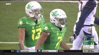 Oregon Ducks vs. Cal Bears- Oregon Highlights 11/07/2015