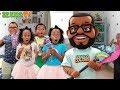 Hello Neighbor Toy Scavenger Hunt ZZ Kids TV Edition! (Find The Fortnite Rainbow Smash!)