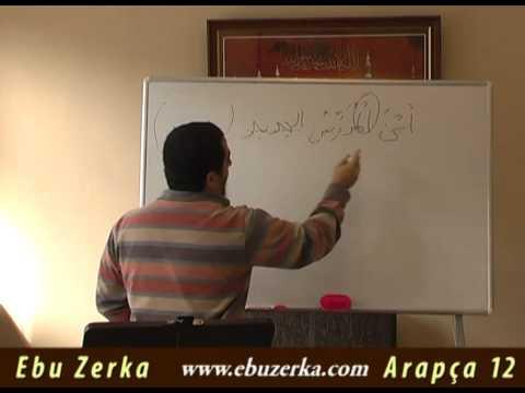Arapça Dersleri 12