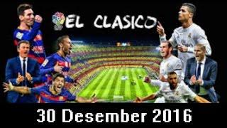 Download Video Skor Akhir El Clasico : Barcelona (2) Vs (0) Real Madrid 23 Desember 2017 Malam ini MP3 3GP MP4