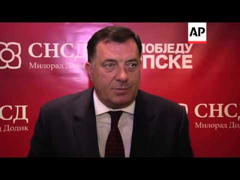 Republika Srpska leader reiterates his call for independence