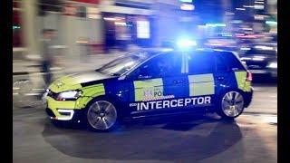 "City of London Police - Volkswagen GTE ""ANPR Interceptor"" responding urgently"