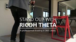 Make real estate property stand out with RICOH THETA 360°