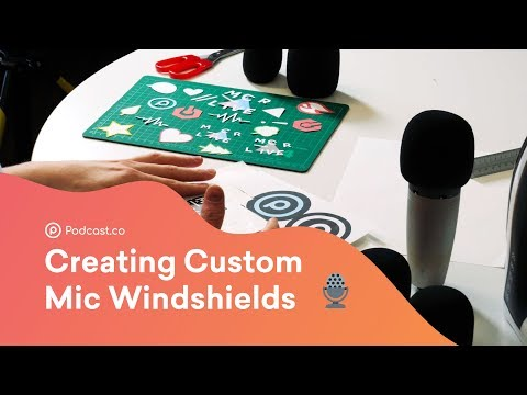 Make Your Own Custom Microphone Windshield