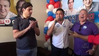 Russas: Deputado Estadual Yuri Guerra (PP), inauguração comitê central AJ Albuquerque.