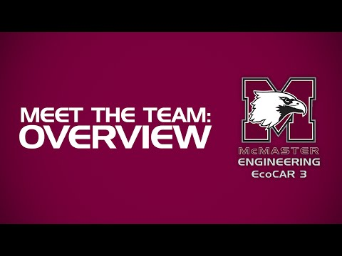 Meet the McMaster Engineering EcoCAR 3 Team