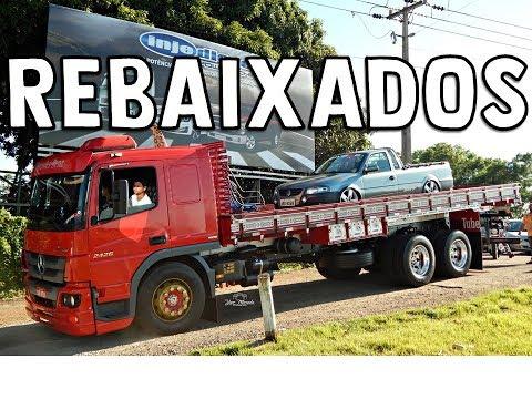 FUI DE CAMINHÃO NO ENCONTRO DE REBAIXADOS !