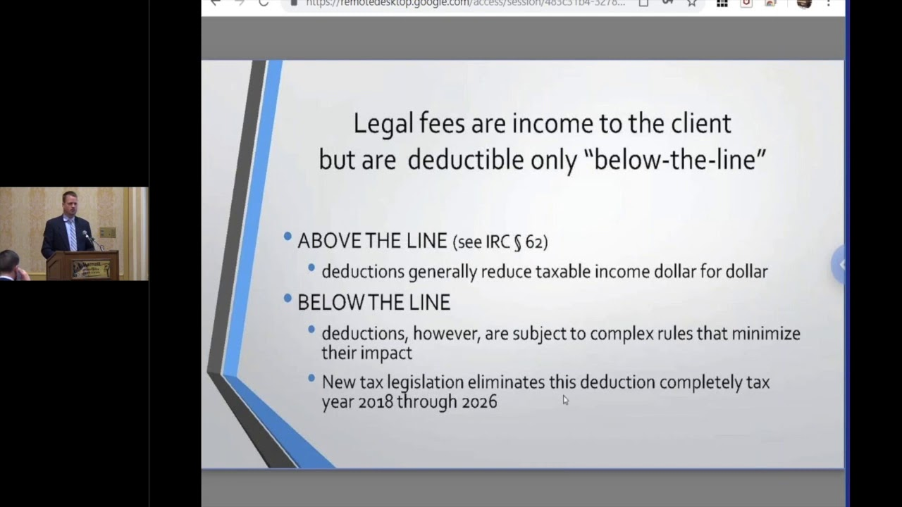 Attorney's Fees - General Rules