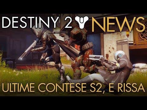 Destiny 2 | NEWS: Ultime Contese di Fazione Season 2 / Data Rissa