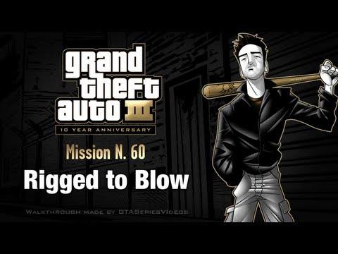GTA 3 - IPad Walkthrough - Mission #60 - Rigged To Blow