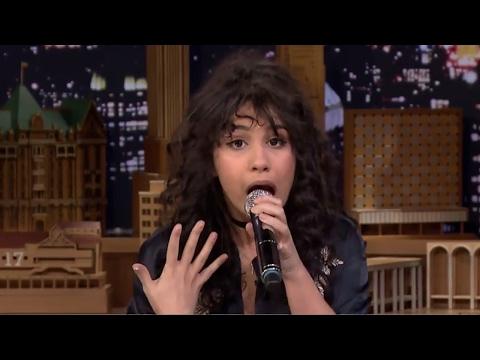 Alessia Cara SLAYS Ariana Grande, Nicki Minaj & More Impressions on Tonight Show