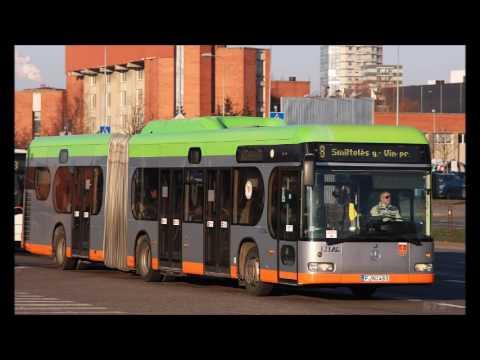 """Mercedes-Benz O530 Irvine Citaro G CNG (ZF)(UAB """"Klaipedos ..."""