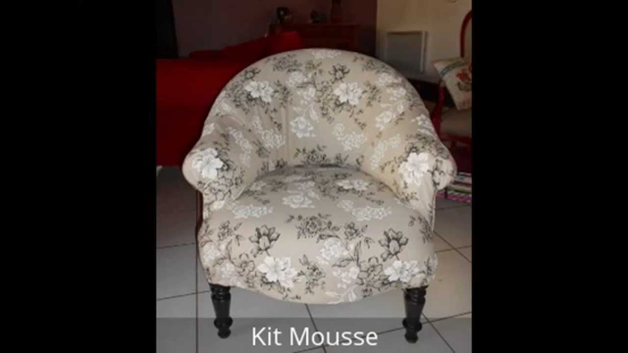 Réfection Fauteuils Crapauds - YouTube