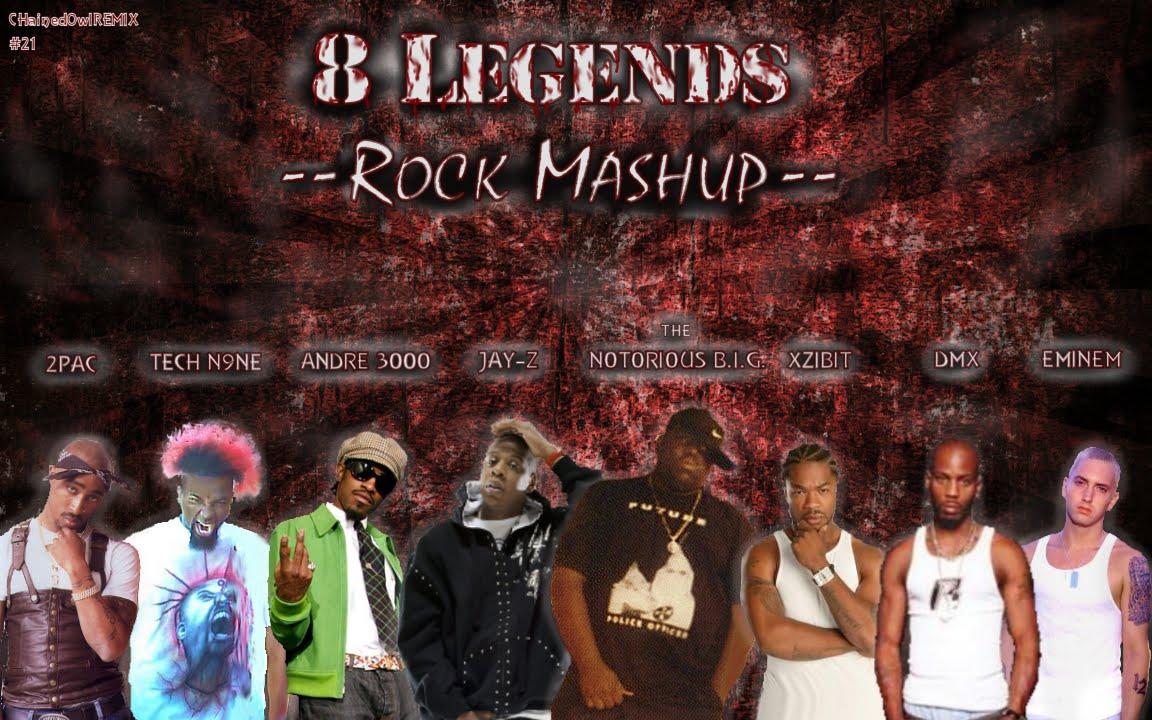 ROCK Mashup (DMX, 2Pac, Biggie, Eminem, Tech N9ne, Jay-Z ...