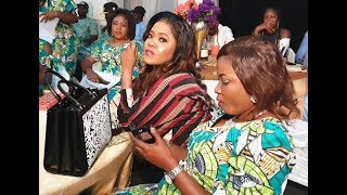 TOYIN ABRAHAM AND LIZZY ANJORIN AT THE SAME EVENTSEE WHAT HAPPEN