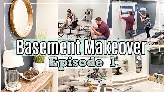 *NEW* BASEMENT MAKEOVER | EPISODE 1 :: DECORATE & CLEAN WITH ME 2020