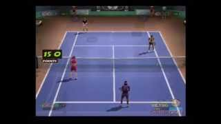 European Tennis Pro - 2 Player Doubles Gameplay ( Phoenix Games ) [Playstation 2]