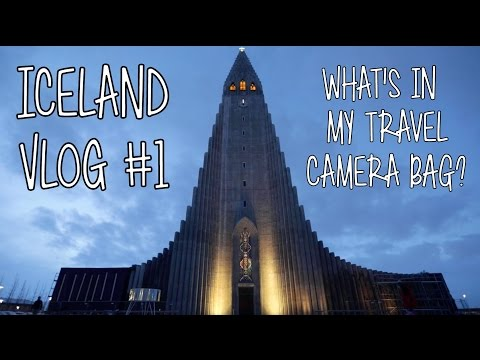 What's In My Travel Camera Bag? - Iceland Vlog #1