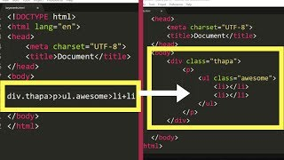 This will make Programmer Life Easy How to Install Emmet in Sublime Text 3 | Emmet Shortcuts