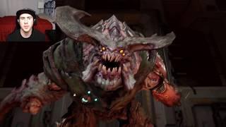 That's A Big Boy! - DOOM gameplay