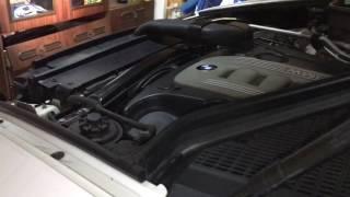 BMW M57N2 писк при глушении двигателя!