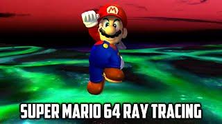 ⭐ Super Mario 64 PC Port - SM64RT - Ray Tracing - 1 key TAS - Render96 Mario