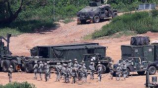 فيديو.. مناورات عسكرية بين أمريكا وكوريا الجنوبية.. والشمالية تهدد