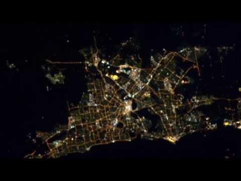 Tell Me A Story: Perth's Night Lights Tribute to John Glenn