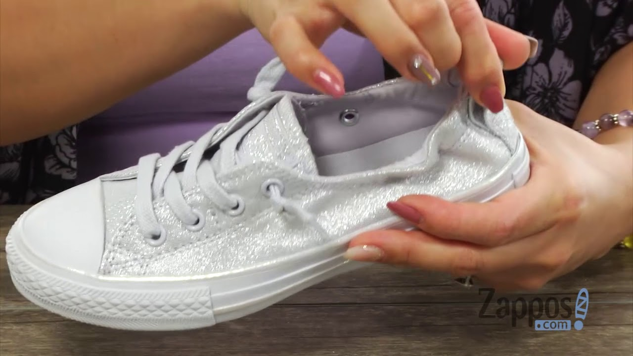 8839b1770b62 Converse Kids Chuck Taylor All Star Shoreline Mono Shine Ox (Little Kid Big  Kid) SKU  8990378