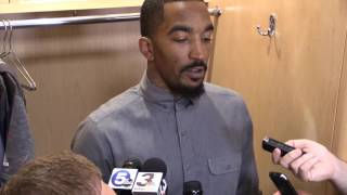 JR Smith talks about the Cavs win in Game 4 of the NBA Finals