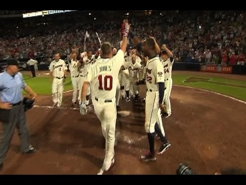 Braves show highlights from Chippers career