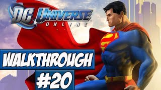 DC Universe Online Walkthrough Ep.20 w/Angel - Gorilla Island!