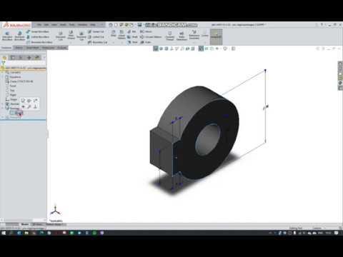08 Редактирование сложных эскизов в SolidWorks