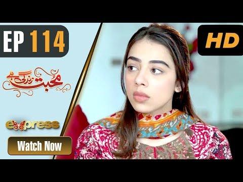 Mohabbat Zindagi Hai - Episode 114 - Express Entertainment Dramas