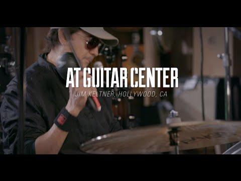 Jim Keltner talks DW, At Guitar Center